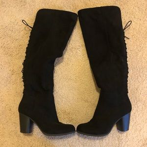 Madden Over the Knee Lace Up Boots